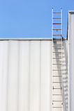 Escalera de la seguridad Imagenes de archivo