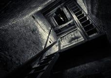 Escalera de la torre imagenes de archivo