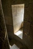 Escalera de la torre del castillo Fotografía de archivo