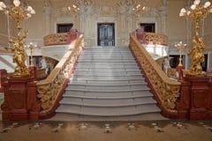 Escalera de lujo Imágenes de archivo libres de regalías
