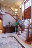 Escalera de lujo Foto de archivo libre de regalías