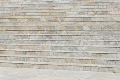 Escalera de mármol - arquitectura moderna al aire libre Imágenes de archivo libres de regalías