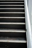 Escalera de madera Fotografía de archivo
