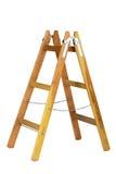 Escalera de madera vieja aislada foto de archivo libre de regalías