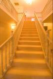 Escalera de oro Fotografía de archivo libre de regalías