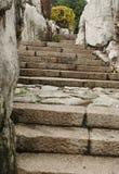 Escalera de piedra Foto de archivo