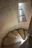 Escalera de piedra Fotos de archivo libres de regalías