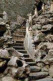 Escalera de piedra Fotografía de archivo