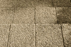 Escalera de piedra de la arena de la grava Imagen de archivo libre de regalías