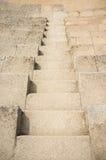 Escalera de piedra rústica Fotografía de archivo libre de regalías
