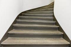 Escalera de piedra vacía Fotos de archivo