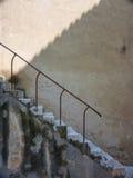 Escalera de piedra vieja Imagen de archivo