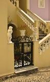 Escalera de Santorini Imágenes de archivo libres de regalías