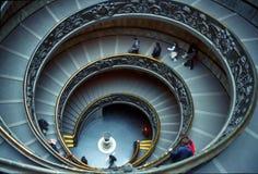 Escalera de Vatican Foto de archivo