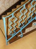 Escalera del art déco Fotografía de archivo libre de regalías