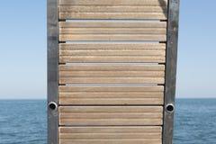 Escalera del buque Imagen de archivo libre de regalías