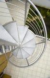 Escalera del caracol imagen de archivo libre de regalías