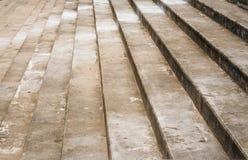 Escalera del cemento Imagen de archivo libre de regalías