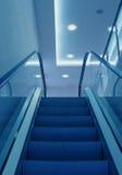 Escalera del elevador fotografía de archivo libre de regalías