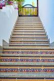 Escalera del este china al top imagen de archivo libre de regalías