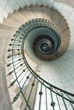 Escalera del faro imagenes de archivo