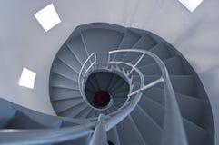 Escalera del faro Fotografía de archivo