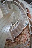Escalera del faro Fotografía de archivo libre de regalías