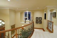 Escalera del hogar de lujo Imagen de archivo