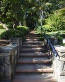 Escalera del jardín Fotos de archivo