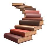 Escalera del libro Imagen de archivo