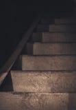 Escalera del metal Imagen de archivo libre de regalías