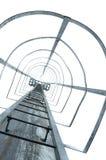 Escalera del metal Fotografía de archivo libre de regalías