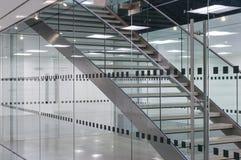 Escalera del metal Foto de archivo