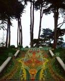 Escalera del mosaico Imagen de archivo