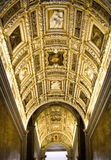 Escalera del palacio del dux, Venecia foto de archivo