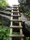Escalera del pico de Macrae Imagenes de archivo