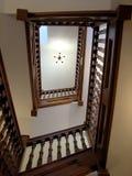 Escalera del roble Imagen de archivo libre de regalías