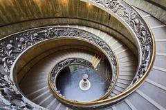Escalera del Vaticano abajo Fotos de archivo