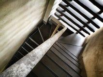 Escalera del vintage Foto de archivo