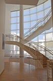Escalera diseñada interior Fotografía de archivo libre de regalías