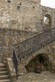 Escalera en castillo imagen de archivo libre de regalías