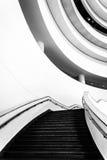 Escalera en el Museo Nacional del indio americano, en lavado Imagen de archivo libre de regalías