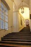 Escalera en el Residenz Salzburg austria Foto de archivo