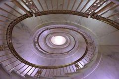 Escalera en el Tribunal Supremo de los E.E.U.U., Washington, C.C. Fotografía de archivo libre de regalías