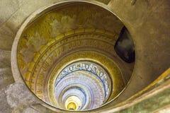 Escalera en la abadía de Melk Imagen de archivo libre de regalías