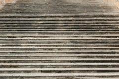 Escalera en la colina de Capitoline en Roma Imágenes de archivo libres de regalías