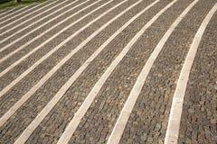 Escalera en Levico Imagen de archivo