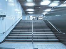 Escalera en paso subterráneo Fotografía de archivo