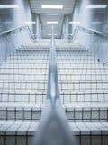 Escalera en paso subterráneo Imagen de archivo libre de regalías