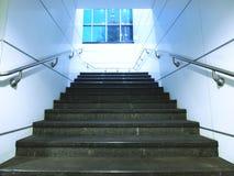 Escalera en paso subterráneo Fotos de archivo